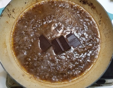 Melt Chocolate for Pork