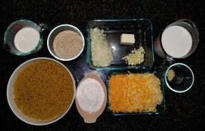 Mac&Cheese Ingredients