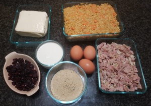 Thanksgiving Arancini Ingredients