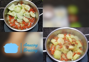 Veggies with Apples