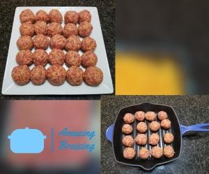 Sausage Balls Formed
