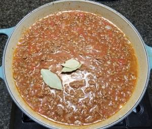 Starting to Simmer Chili